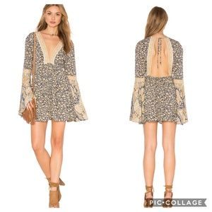 Free People Once Upon A Summertime Floral Romper